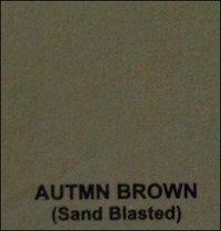 Autmn Brown Sand Blasted Sand Stones