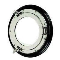 Nickel Plated Porthole Mirror