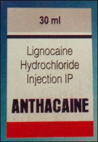 Anthacaine Lidocaine Hydrochloride Injection