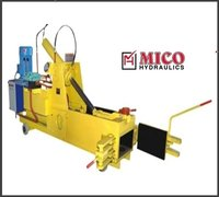 Horizontal Baling Machine