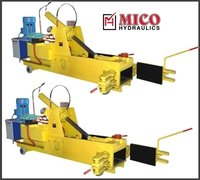Double Scrap Action Baling Machine