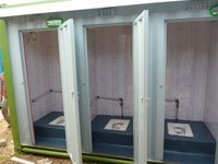 Combined Portable Indian Toilet Cabins - New Model