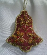 Bell Shape Christmas Ornament