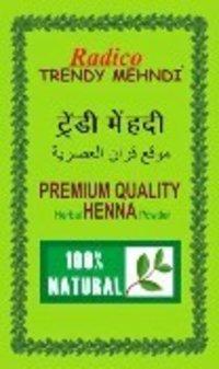 100% Pure Natural Herbal Henna Powder