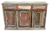 Reclaimed Wood Side Board