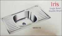 Iris Single Bowl Double Drain Sinks