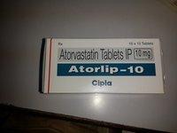 Atorlip 10 (Atorvastatin Tablets)