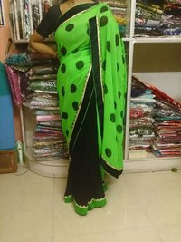 Synthetic Saree