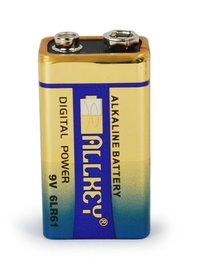 9V 6LR61 Alkaline Dry Battery