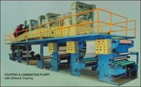 Coating And Lamination Plant With Silicone Coating