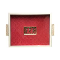 Dhokra Painting Tray