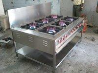 6 Burner Cooking Range