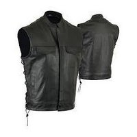 Genuine Leather Vests