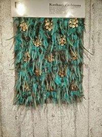 Fancy Design Beaded Fabric