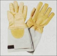Chrome Welding Leather Gloves