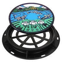 Water Proof Safety Manhole Cover
