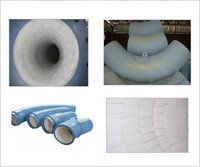 Alumina Ceramic Lined Coal Pipe Bend Fitting