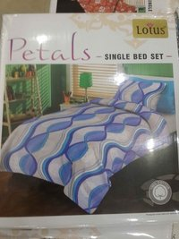 1 Single Bedsheet Cotton With 1 Pillow Cover
