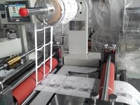 Blank Label, White Label, Printed Barcode Die Cutting And Foil Gilding Machine