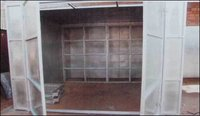 Paint Spray Booth - (Dry) Air Filteration Type