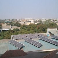 Commercial Solar Roof Top Panels