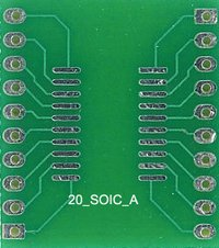 Electronic Header Board (20 Soic A)
