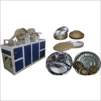 Paper Plate Manufacturing Automatic Double Die Machine