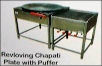 Revolving Chapati Plate With Puffer