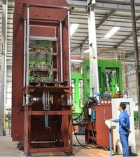 Hydraulic Curing Press For Solid Tire