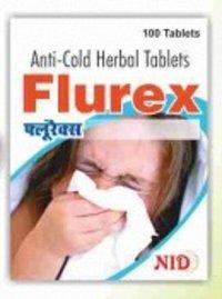 Anti Cold Herbal Flurex Tablet
