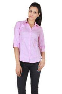 Ladies Plain Formal Shirt