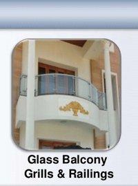 Ss Glass Balcony Grills