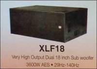 Very High Output Dual 18 Inch Sub Woofer