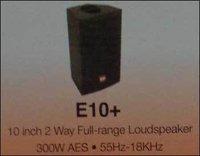2 Way Full Range Loudspeaker (10 Inch)