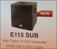 High Output Subwoofer (15 Inch)