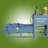 Hydraulic Scrap Baling Press