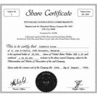 Share Certificates Printing Services