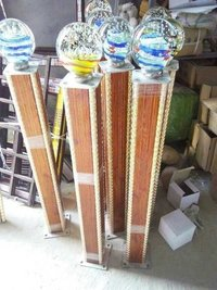 Handrail Glass Balls