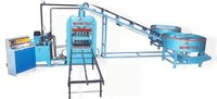 Fully Automatic Fly Ash Bricks Machine With Vibro