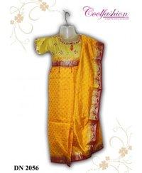 Golden Yellow Saree