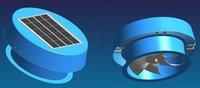 DC Solar Re-chargeable Fan