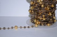 Gold Beaded Fashion Chains