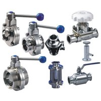 Sanitary Dairy Butterfly Valves