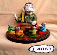 Antique Ganesha Statue (J4061)