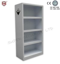 Polypropylene Lab Medical Storage Cabinet With Glass Door and Waterproof