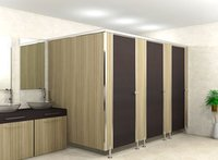 Ss Elegant Modular Toilet Partition Services