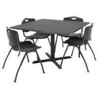 Cafeteria Table and Chairs