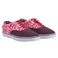 Camoflauge Skate Shoes (Red)