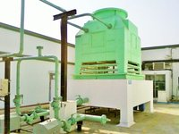 FRP Cooling Tower for Machinery Plant