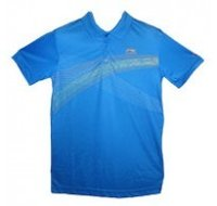 Color Neck With Half Sleeve Blue T Shirt